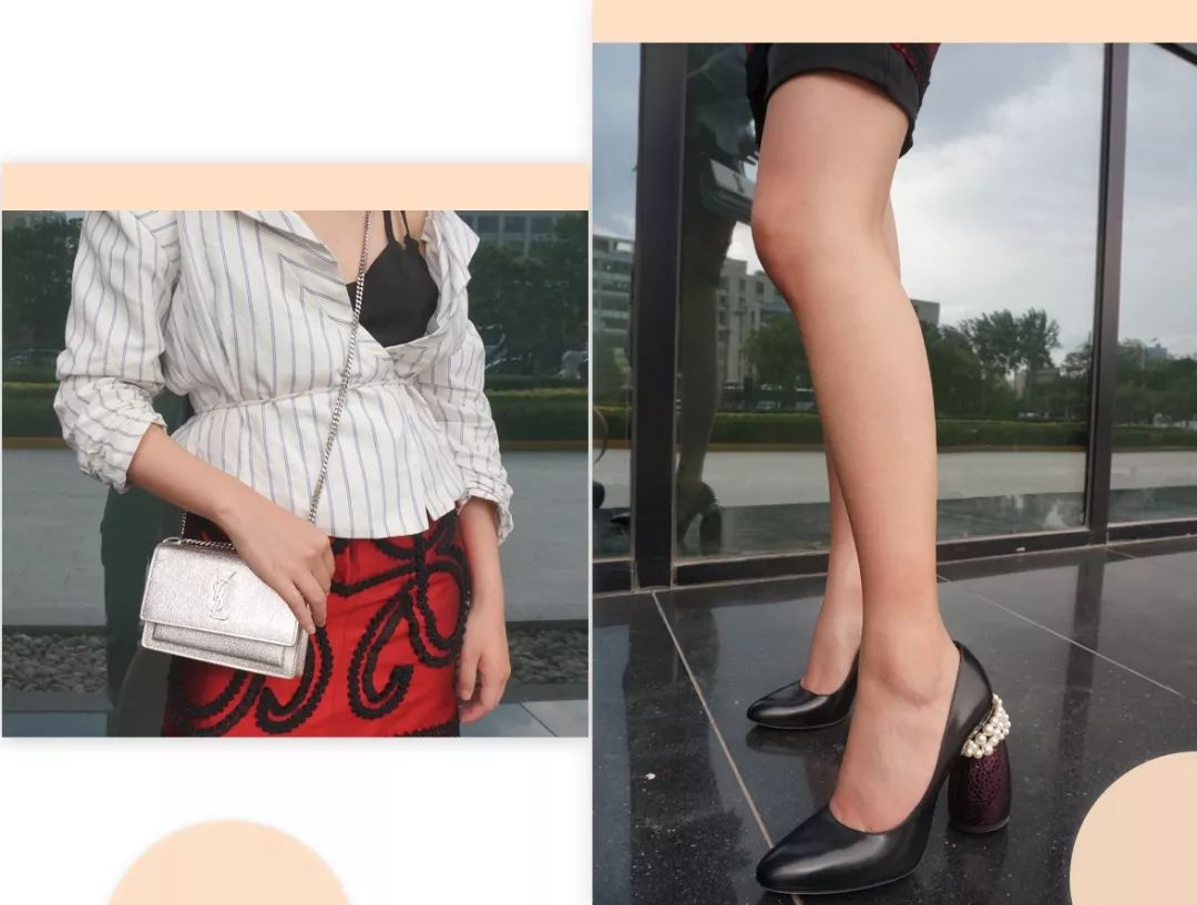 这双高跟鞋是vitamin小姐姐一眼就相中的!美到没盆友的