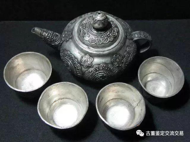 老银器器物类可细分为饮食器、盥洗器、陈设观赏品等
