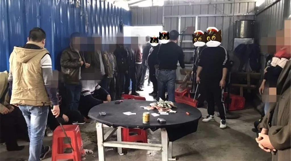 【重磅】平乐警方捣毁赌窝 抓获涉赌人员22人