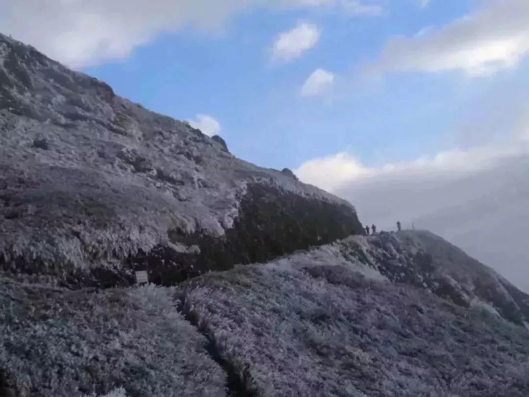 古风风雪风景图 图片