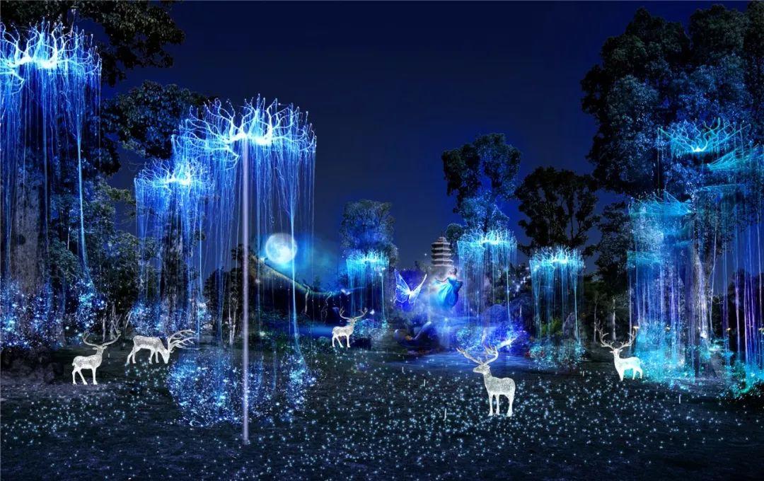 """灯都生态湿地公园的""""森林童话"""",""""北湖之光"""",""""光影"""