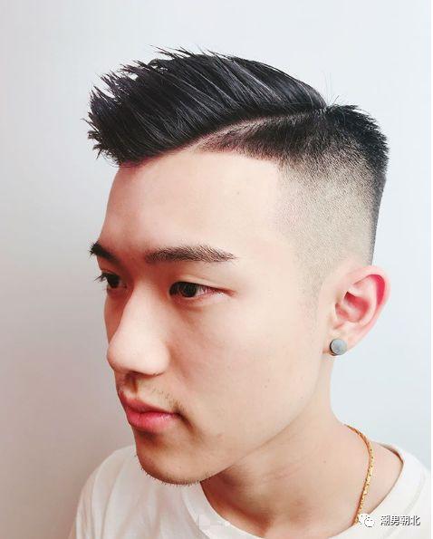 男生两边铲发型3图片