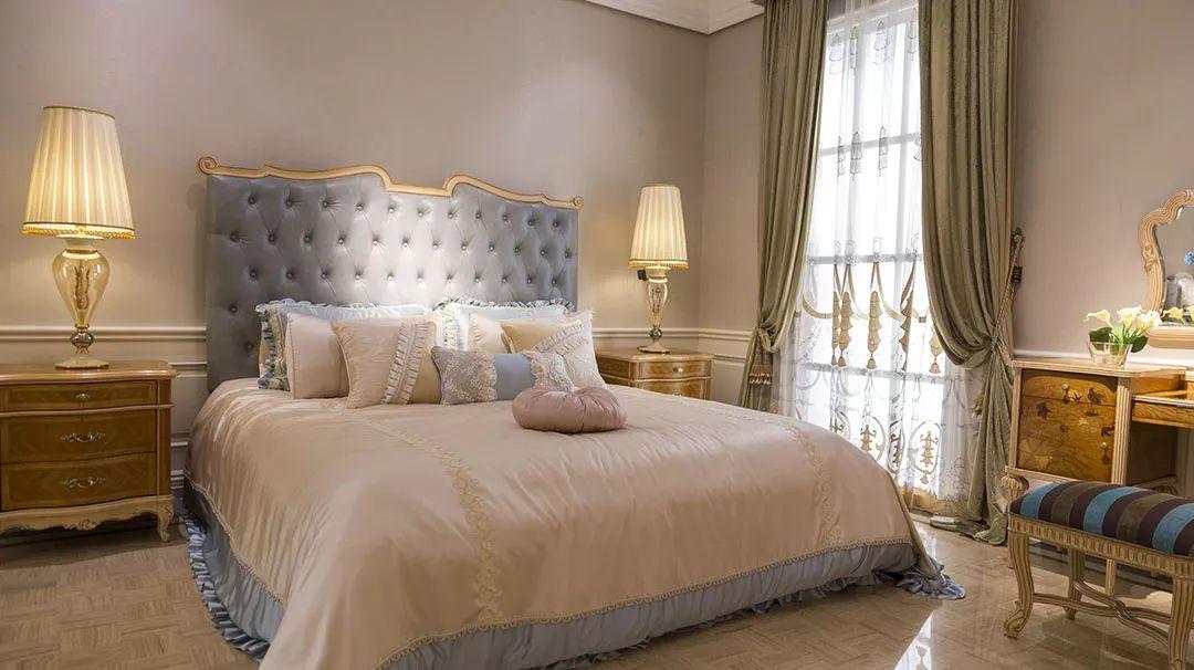 典雅宫廷风,欧式卧室这般打造