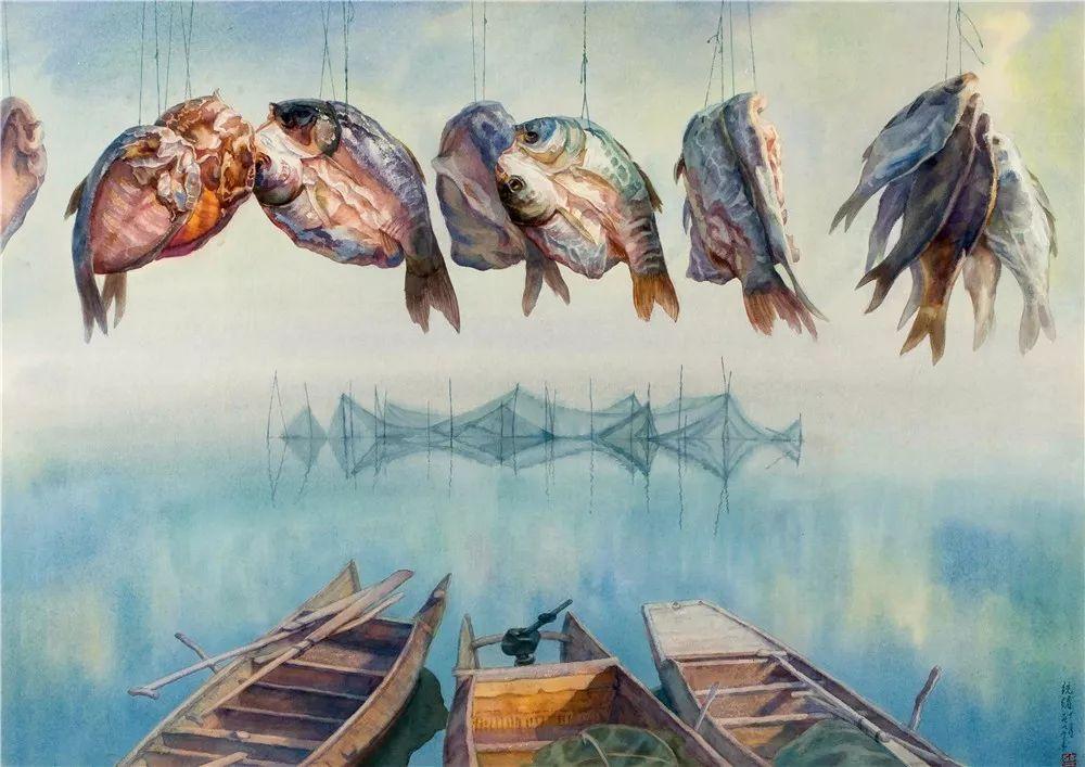 ——刘寿祥 (中国美术家协会水彩画艺委会副主任,湖北美术学院水彩画图片