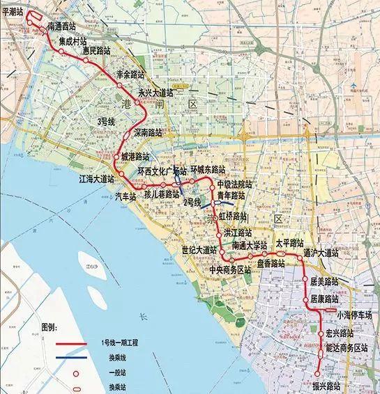 上海2035规划在机场,港口,交通运输,跨界协作等方面屡屡提及南通!