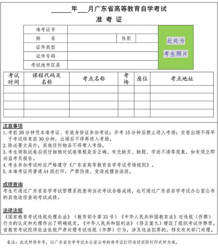 关于2018年10月广东省高等教育自学考试报名