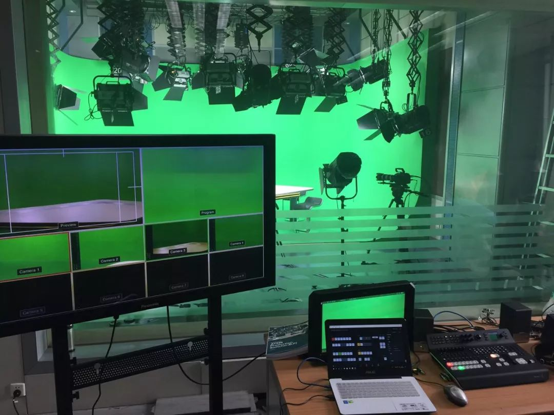 陕西广播电视台融媒体指挥中心演播室 采用Blackmagic Design系列产品
