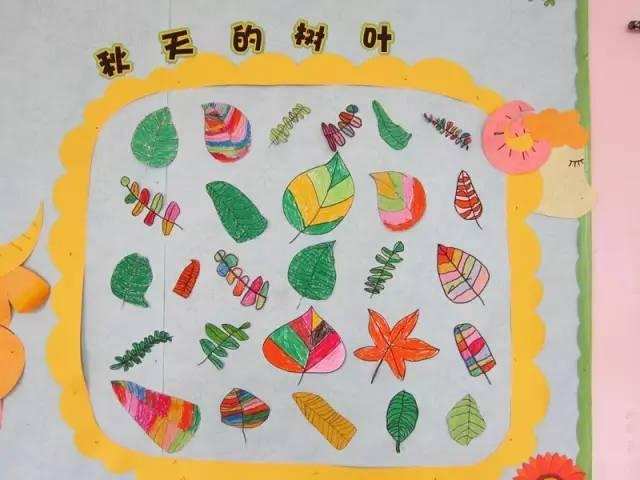 【秋季主題】最美幼兒園秋季環創曝光,為開學季提前收藏!