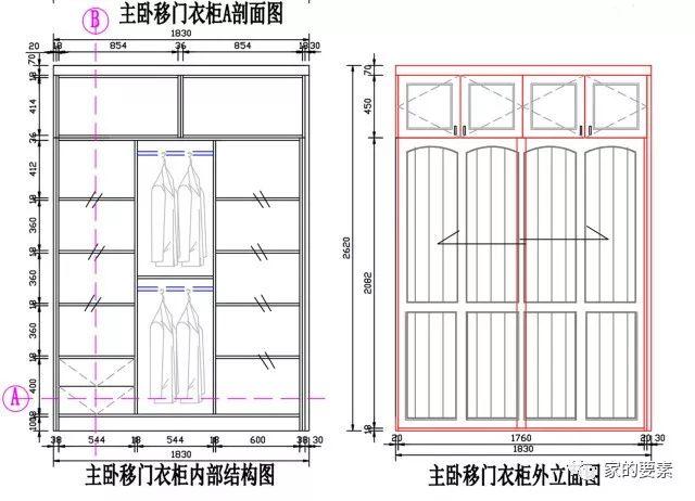 衣柜 结构图