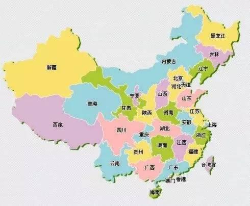 """一张图巧记中国""""各省份地图""""!太有才了!"""