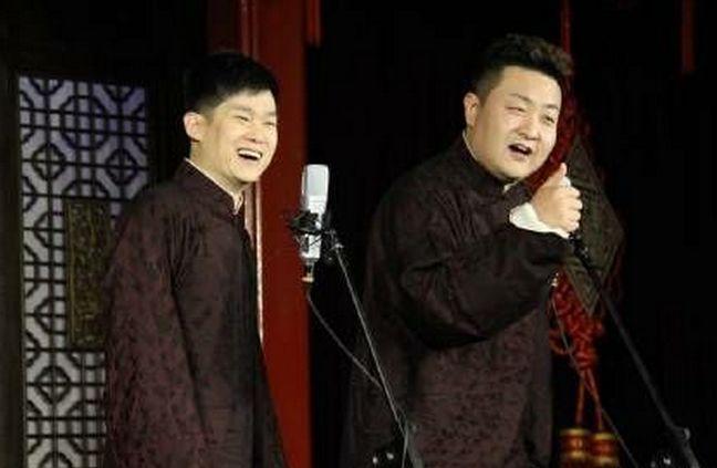 北京青年相声演员徐涛,郭威带来相声《名扬天下》图片