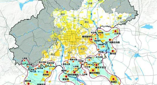 """重点整合规划""""通州与北三县""""!"""