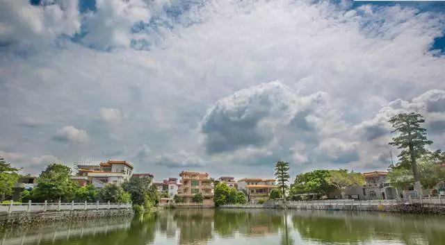 禅城区南庄镇紫南村,依山面江,河网密布,拥有秀美的岭南水乡风光