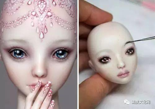娃娃的身体结构为经典的球形关节