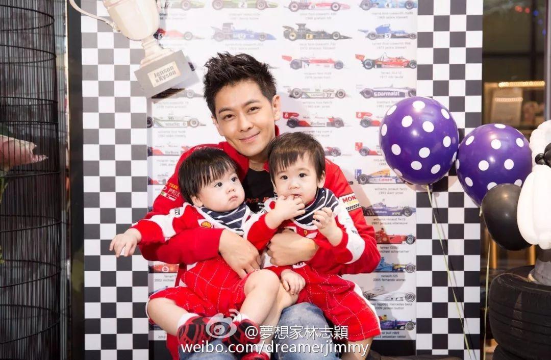 林志颖双胞胎儿子上热搜,这一家五口的幸福童话让人超图片