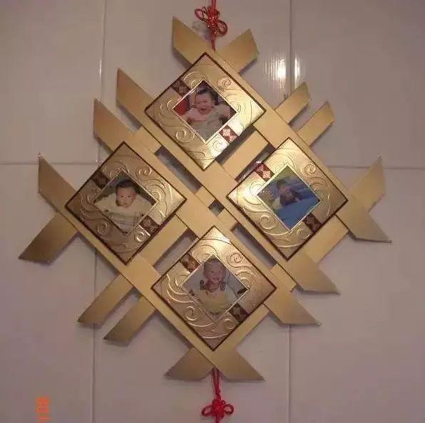 儿童手工制作月饼盒吊饰