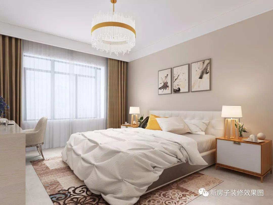 22款现代简约风格卧室装修效果图,我最喜欢第10款超美