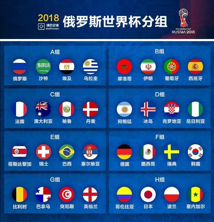 2018世界杯官方完整赛程表出炉!还有啤酒美食享不停!