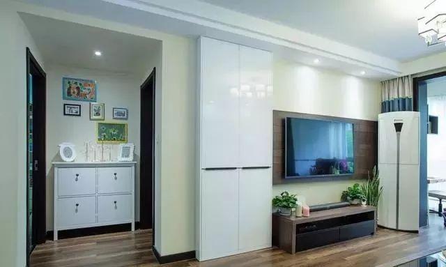 老婆20万装修的89㎡新房,大家都夸小户型客厅装的大气