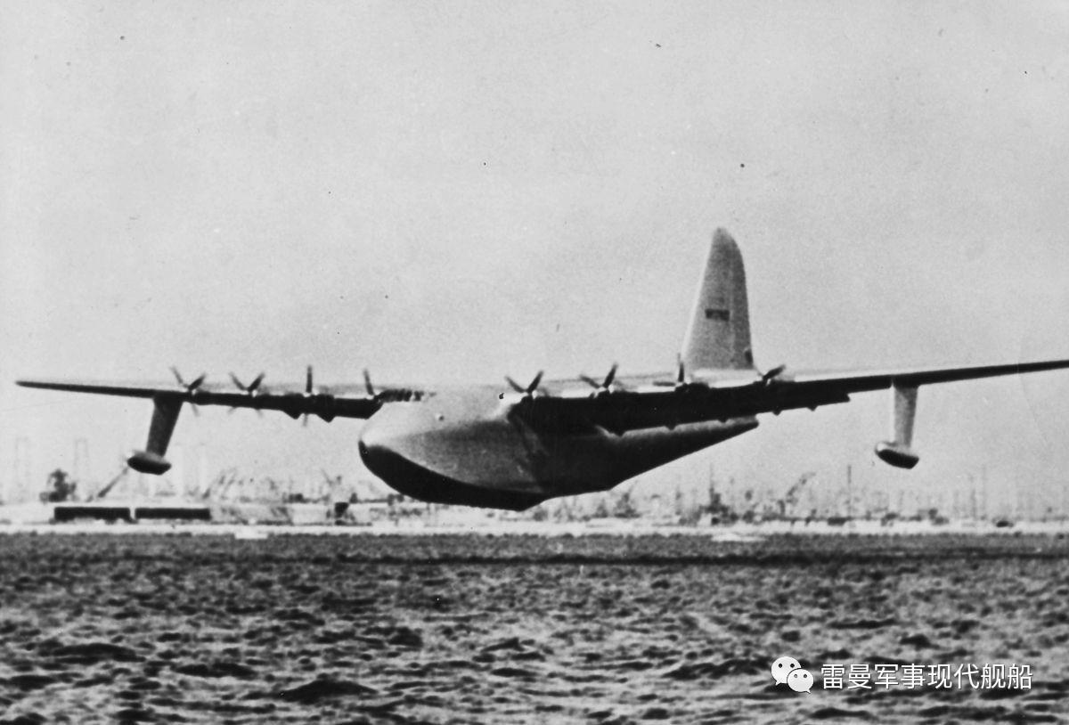 史上最大水上飞机,重量是ag600的四倍,翼展近百米