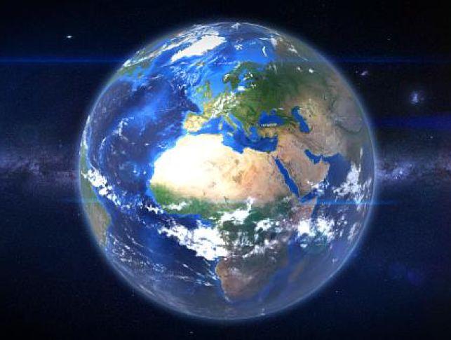 地球展开矢量图