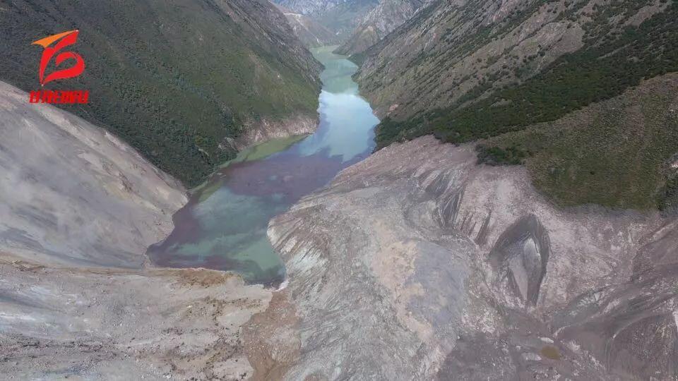 独家丨720度vr全景直击金沙江白格堰塞湖