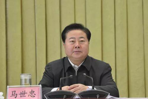 甘肃政法委书记马世忠上任最高法