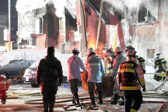 日本一住宅起火致11人遇难 居住者多为孤寡老人