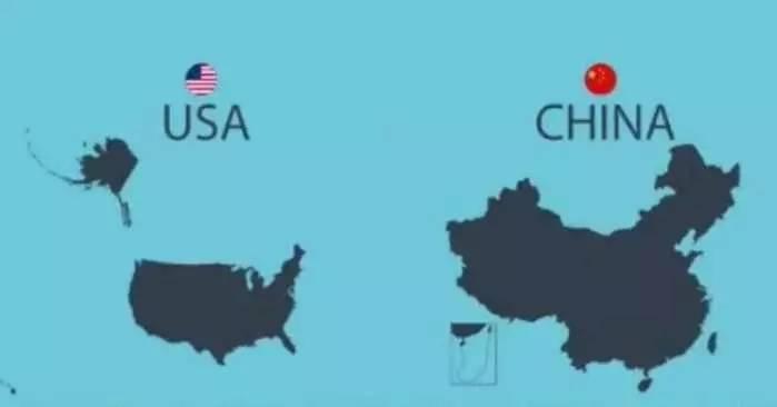 美国中情局: 美国的国土面积比中国大