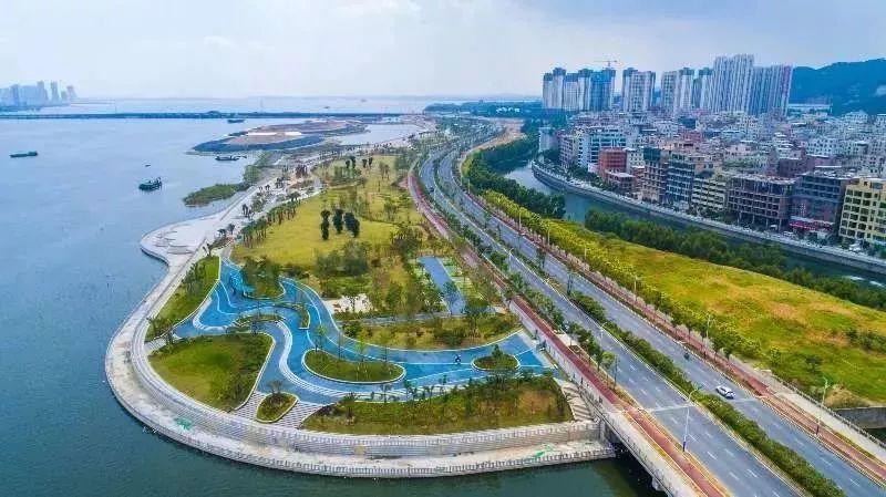 好消息:不用等到元旦!马銮湾带状公园提前一个月全面