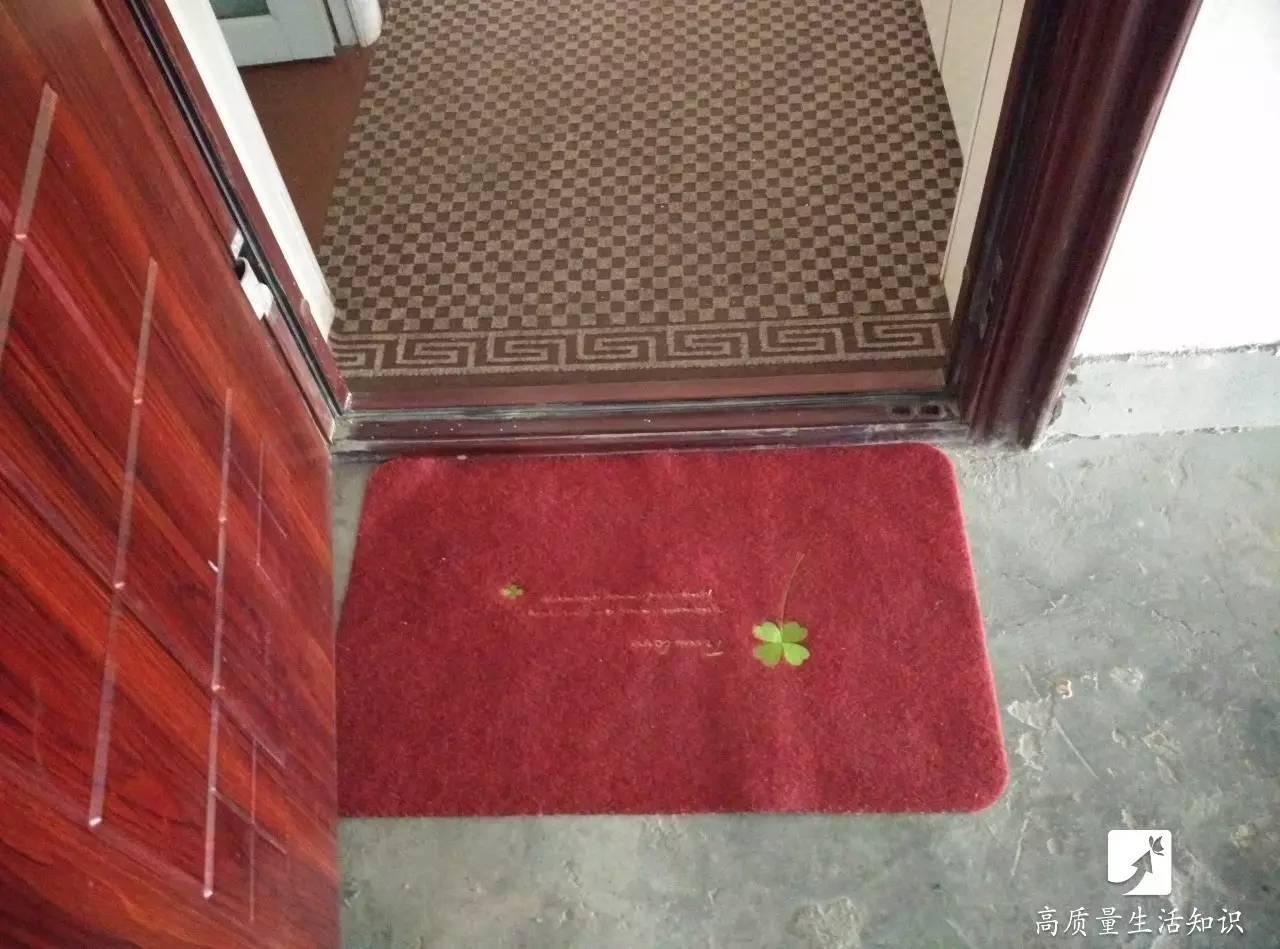 地垫到底该放在门外还是门里?原来以前都做错了! - 老泉 - 把酒临风的博客