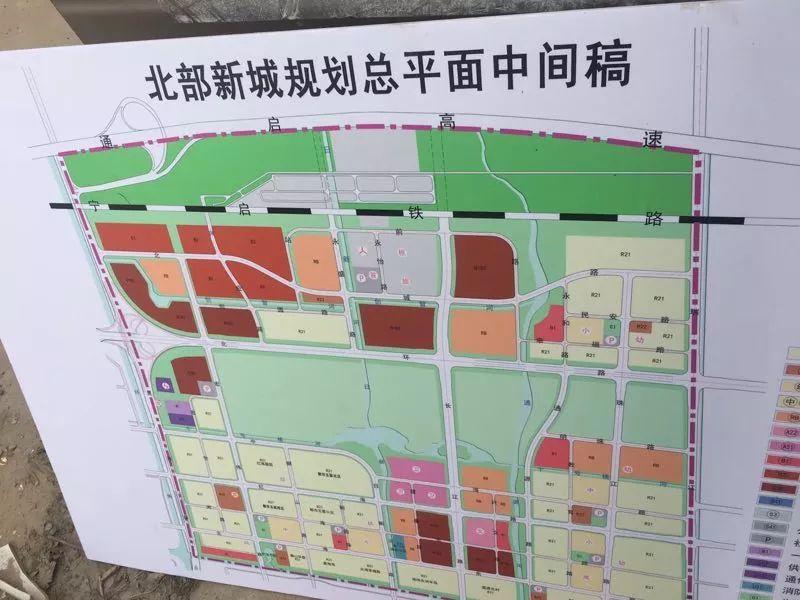 不少关注海门建设的网友开始就规划图热议北部新城的发展未来