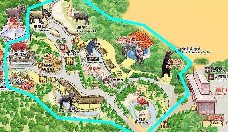 刺激自驾游—广州长隆野生动物园