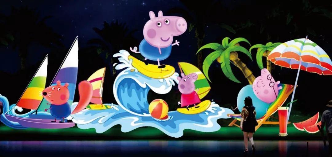当然有啦,小猪佩奇,熊出没,当下孩子超喜爱的动漫都有,还有,南极大