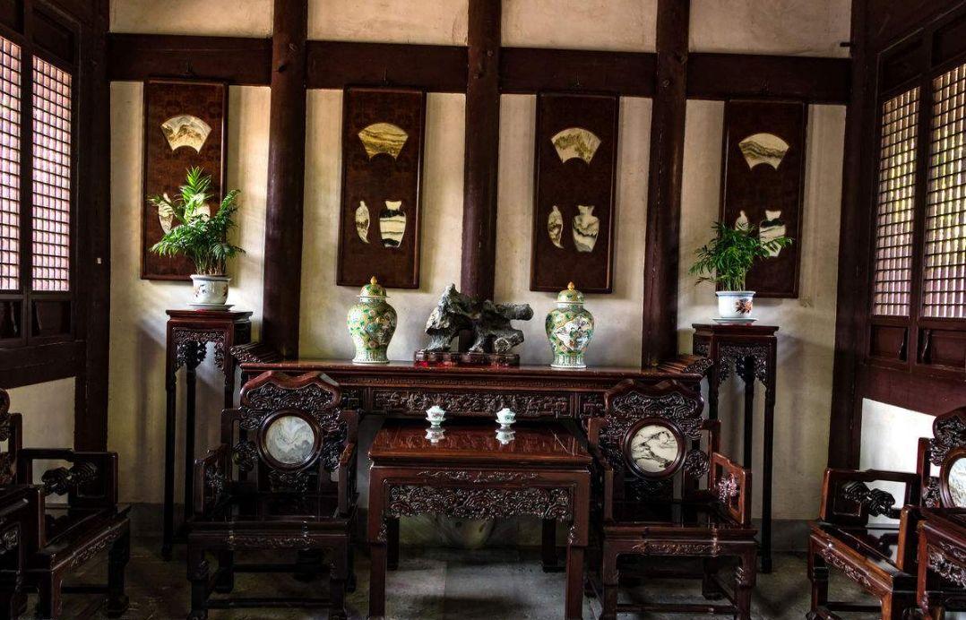 古代大户人家的客厅,中堂必不可少!