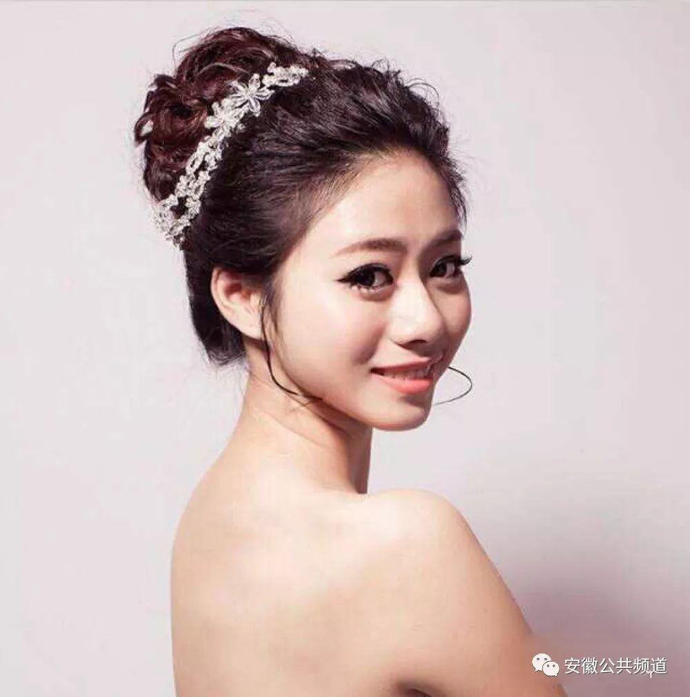 【我们结婚啦】美美的新娘发型,还不快收藏图片