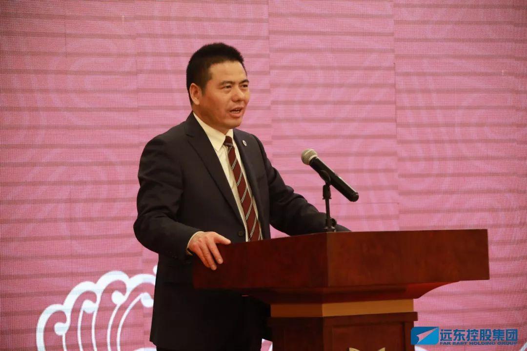 远东控股集团创始人,董事局主席,党委书记蒋锡培继担任江大商学院第四