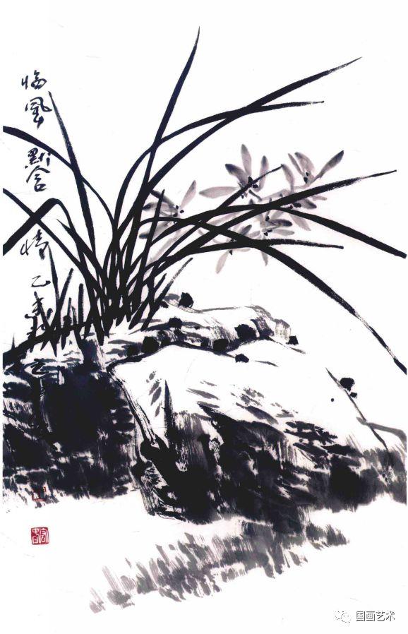图文教程:写意兰花画法