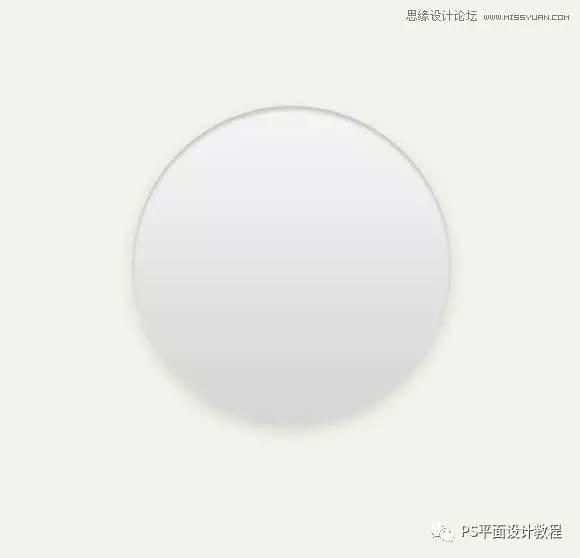 UI质感v质感在PS中绘制一枚图标文字播放器广告设计视频排版圆形图片