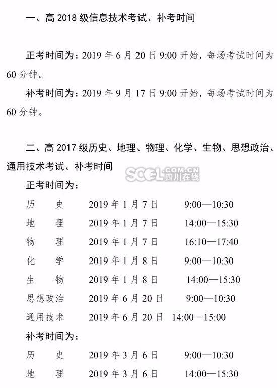 2018-2019学年四川学业高中水平考试芭出音分辨高中低图片