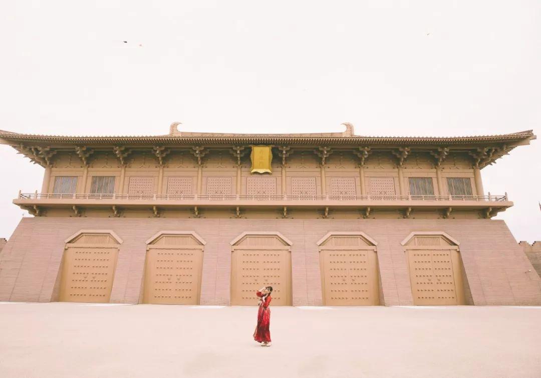 古风宫殿背景素材高清