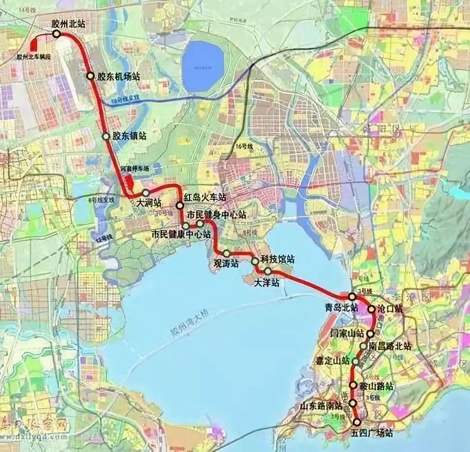 青岛地铁13号线票价定了!4,8,10号线新进展,西海岸未来将建设新机场!