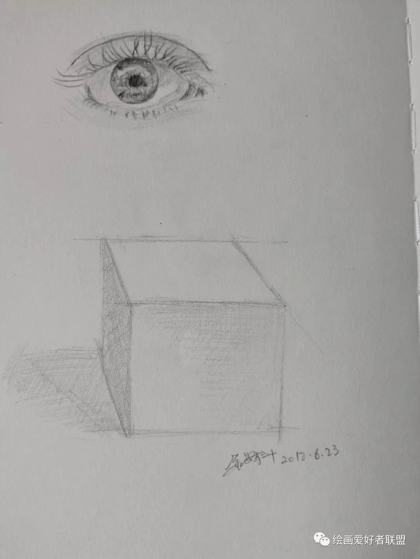 素描素描立体画图片步骤