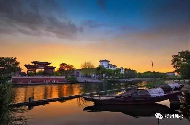 """扬州的""""母亲河""""—— 古运河   她有着扬州最迷人的风景线   一部"""