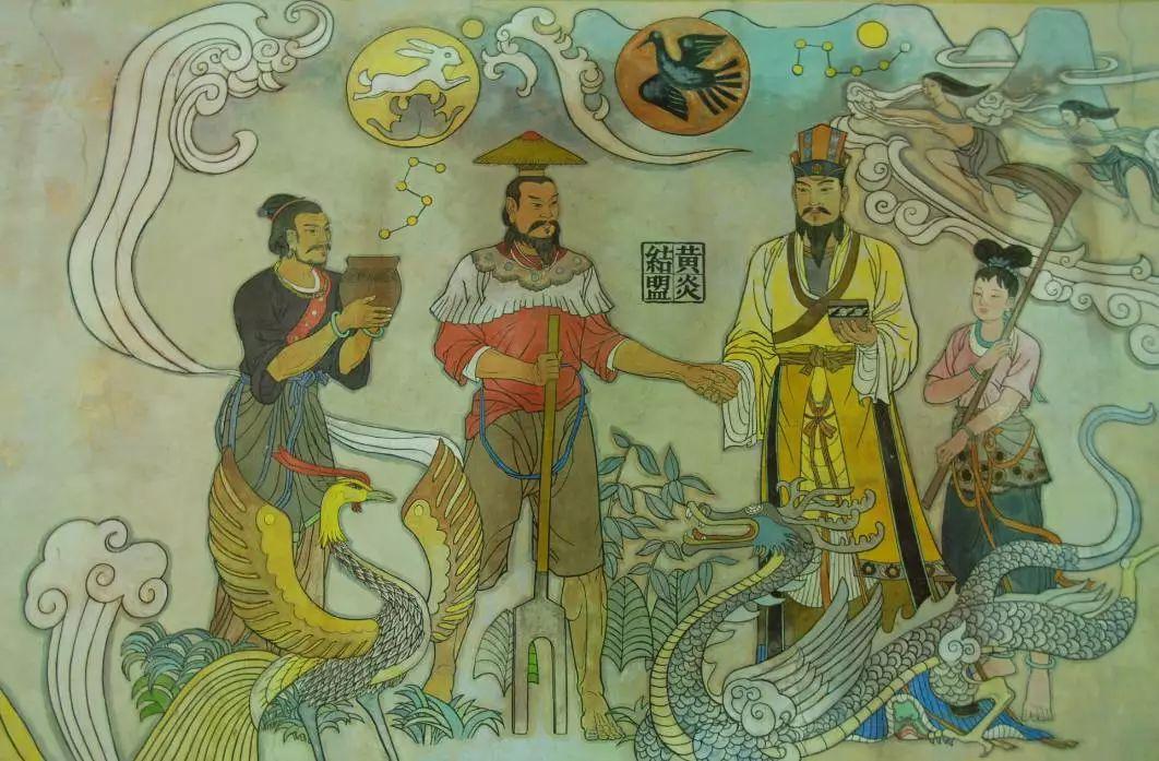 炎帝与黄帝的传�_结果黄帝胜了炎帝败了,打的地方就是现在的河北省.