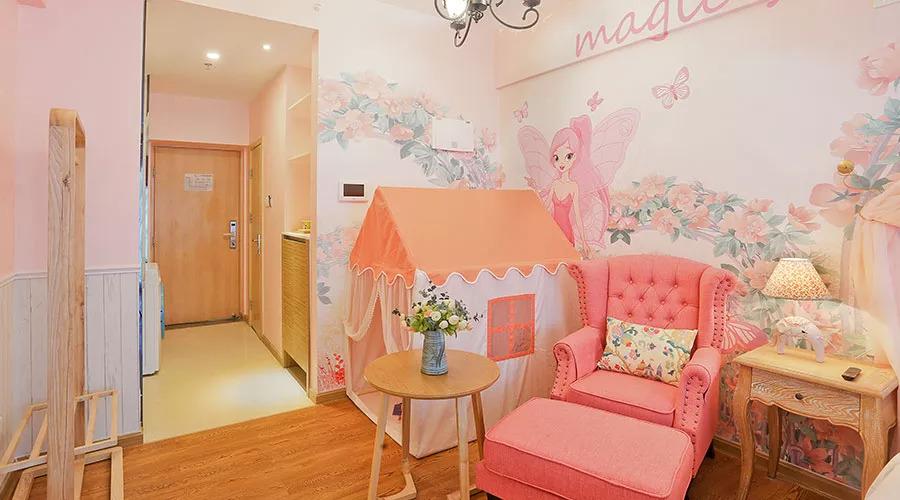 粉红色的公主房是多少小女孩心里的少女梦呀~超可爱