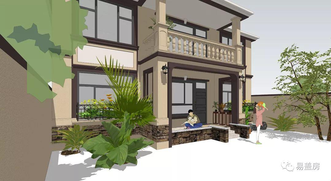 别墅台阶设计效果图