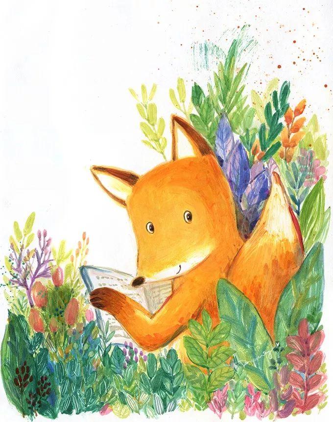 狐狸眉心的花纹
