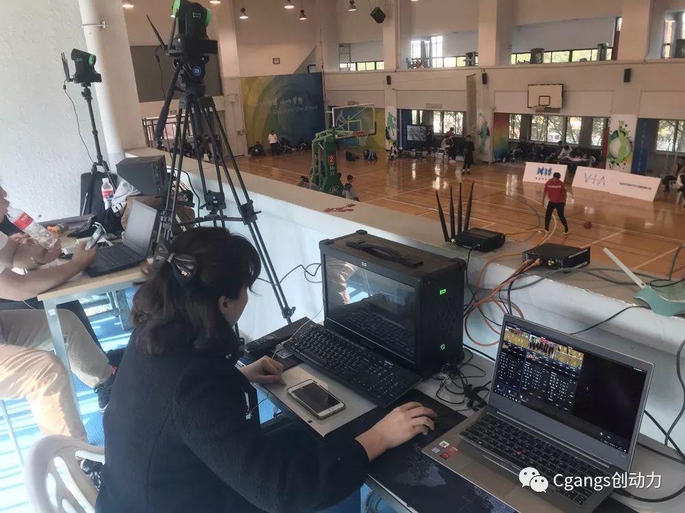 Cgangs Livestudio Family助力首届VIA杯三对三篮球赛