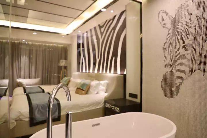 龙之梦动物世界大酒店效果图   客房将各种不同的动物元素融入